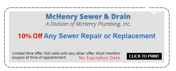 10% Off any sewer repair